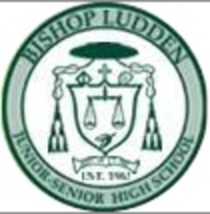 Bishop Ludden Junior/Senior High School - Image: Bishopludden crestlogo
