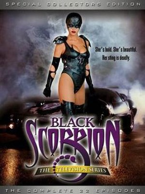 Black Scorpion (TV series) - Black Scorpion TV series DVD cover