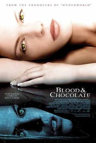 Blood & Chocolate (film) - Theatrical release poster