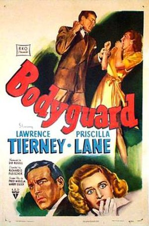 Bodyguard (1948 film) - Theatrical release poster
