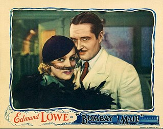 <i>Bombay Mail</i> 1934 film by Edwin L. Marin
