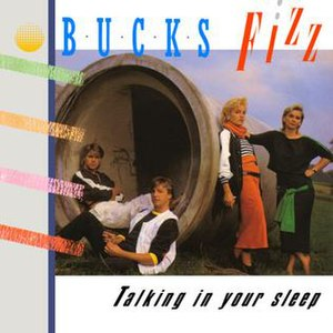 Talking in Your Sleep (The Romantics song) - Image: Bucks Fizz Talking in your Sleep