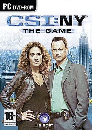 CSI: NY (video game) - Cover art