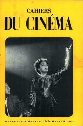 Cahiers du cinéma - Cover of the inaugural issue (April 1951), with a still from Sunset Boulevard