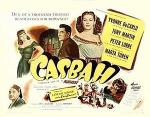 Casbah (film) - Image: Casbah Film Poster