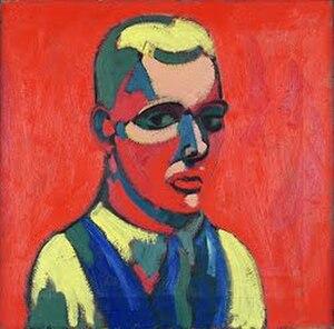 Charles Biederman - Self-portrait (1934)