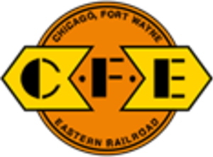 Chicago, Fort Wayne and Eastern Railroad - Image: Chicago, Fort Wayne and Eastern Railroad logo