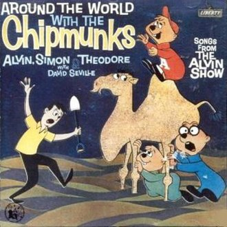 Around the World with The Chipmunks - Image: Chipmunks Around The World