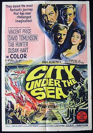 City Under the Sea - Film poster by Reynold Brown