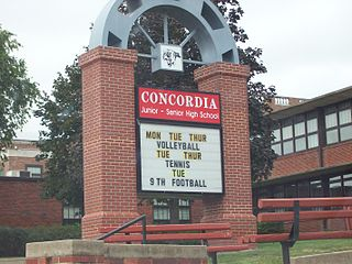 Concordia Junior-Senior High School Secondary school in Concordia, Kansas