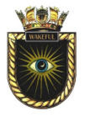HMS Wakeful (1943) - Ship's badge