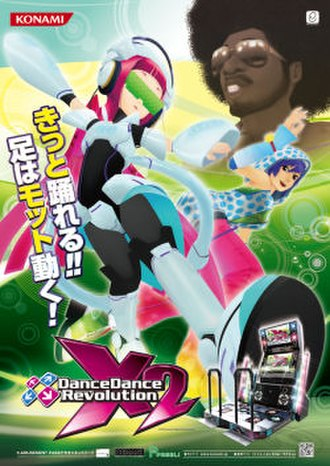 Dance Dance Revolution X2 - Japanese flyer for Dance Dance Revolution X2
