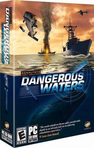 Dangerous Waters - North American boxart