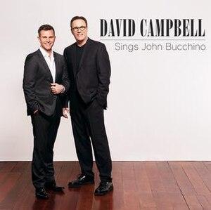 David Campbell Sings John Bucchino - Image: David Campbell Sings John Bucchino