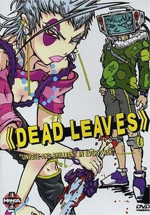 Dead Leaves - North American DVD Cover