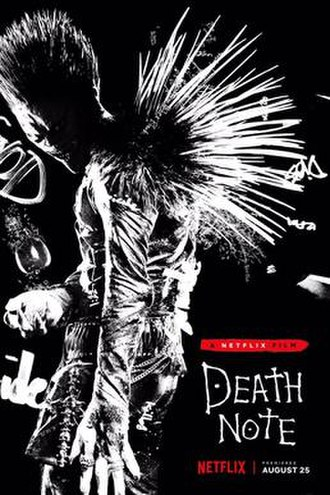 Death Note (2017 film) - Promotional poster