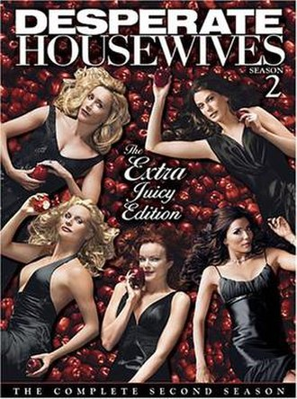 Desperate Housewives (season 2) - DVD Cover for Desperate Housewives Season 2