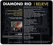 Diamond Rio - I Believe promo.jpg