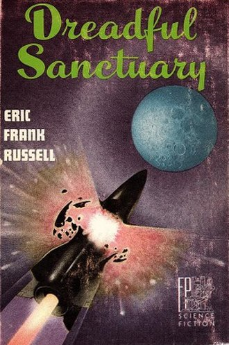 Dreadful Sanctuary - Dust-jacket from the first edition