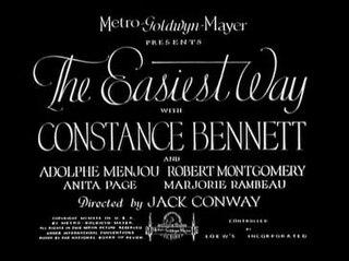 <i>The Easiest Way</i> 1931 film