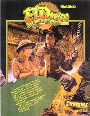 El Dorado City of Gold (pinball) - Image: El Dorado Cityof Gold Pinball Flyer
