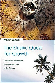 <i>The Elusive Quest for Growth</i> 2001 book by William Easterly