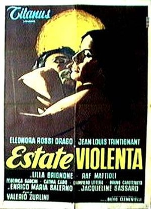 Estate Violenta - Theatrical release poster