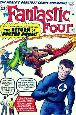 Fantastic Four 10 (cover art)