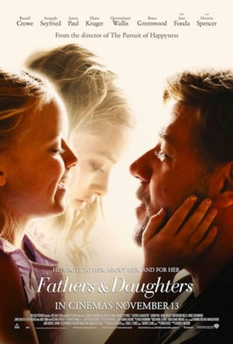 Fathers and Daughters - Theatrical release poster