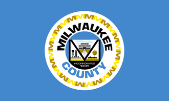 Milwaukee County, Wisconsin - Image: Flag of Milwaukee County
