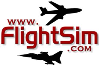 Flightsim.com - Image: Flightsim logo