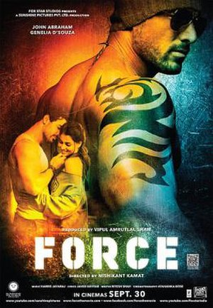 Force (2011 film) - Theatrical release poster
