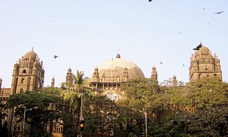 General Post Office (Mumbai) - 'GPO from a distance'