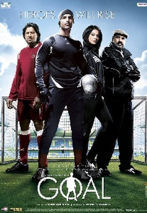 Goal (2007 Hindi film) - Theatrical poster