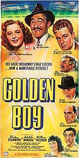 <i>Golden Boy</i> (1939 film) 1939 film by Rouben Mamoulian