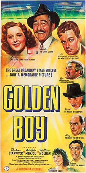 Golden Boy (film) - Original poster