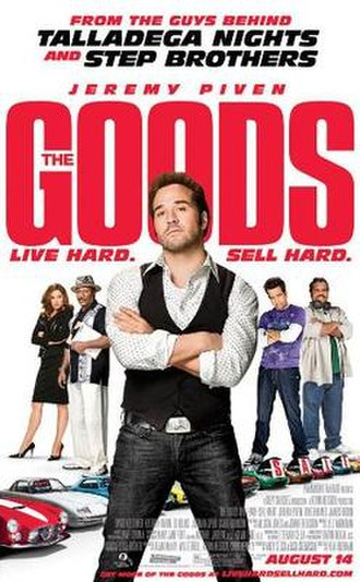 The Goods: Live Hard, Sell Hard - Theatrical release poster