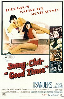 <i>Good Times</i> (film) 1967 film by William Friedkin
