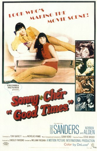 Good Times (film) - Original theatrical release poster