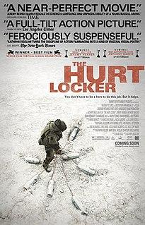 <i>The Hurt Locker</i> 2008 American war film directed by Kathryn Bigelow