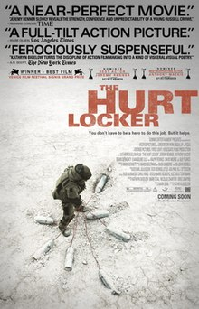 The Hurt Locker 2009 USA Kathryn Bigelow Jeremy Renner Anthony Mackie Brian Geraghty  Drama, Thriller, War