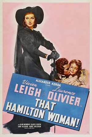 That Hamilton Woman - theatrical release poster