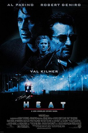 Heat (1995 film) - Theatrical release poster