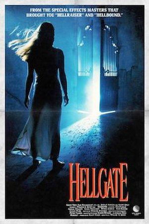 Hellgate (1989 film) - Theatrical poster
