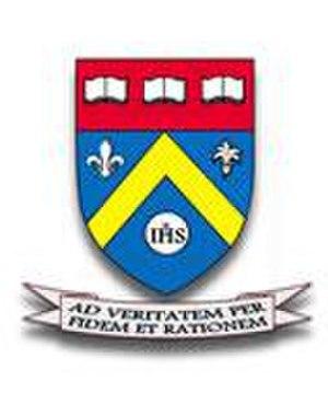 Holy Family Academy (New Hampshire) - Image: Holyfamilyacadlogo