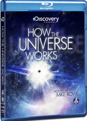 How the Universe Works - Blu-ray disc cover