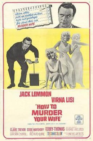 How to Murder Your Wife - Theatrical release poster