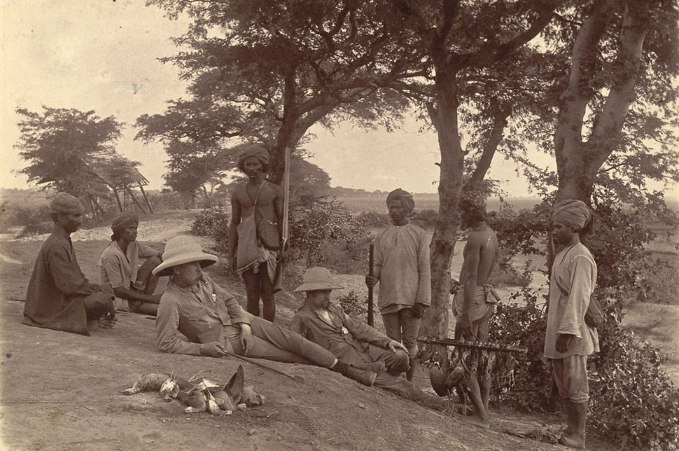 Hunting party mandalay1885