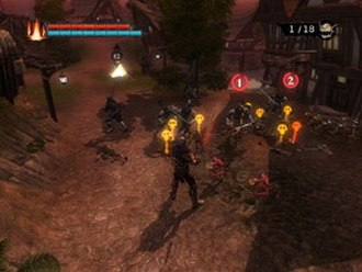 Overlord (2007 video game) - The player uses the minions for the majority of tasks such as combat.