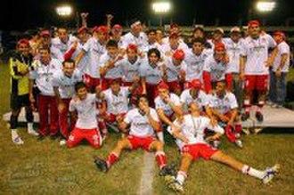 Indios de Ciudad Juárez - Indios when they were champions of Apertura 2007